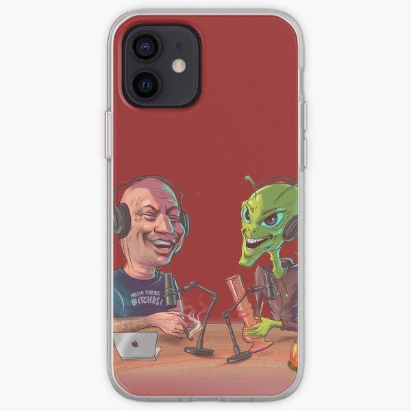 Joe Rogan and The Alien iPhone Soft Case