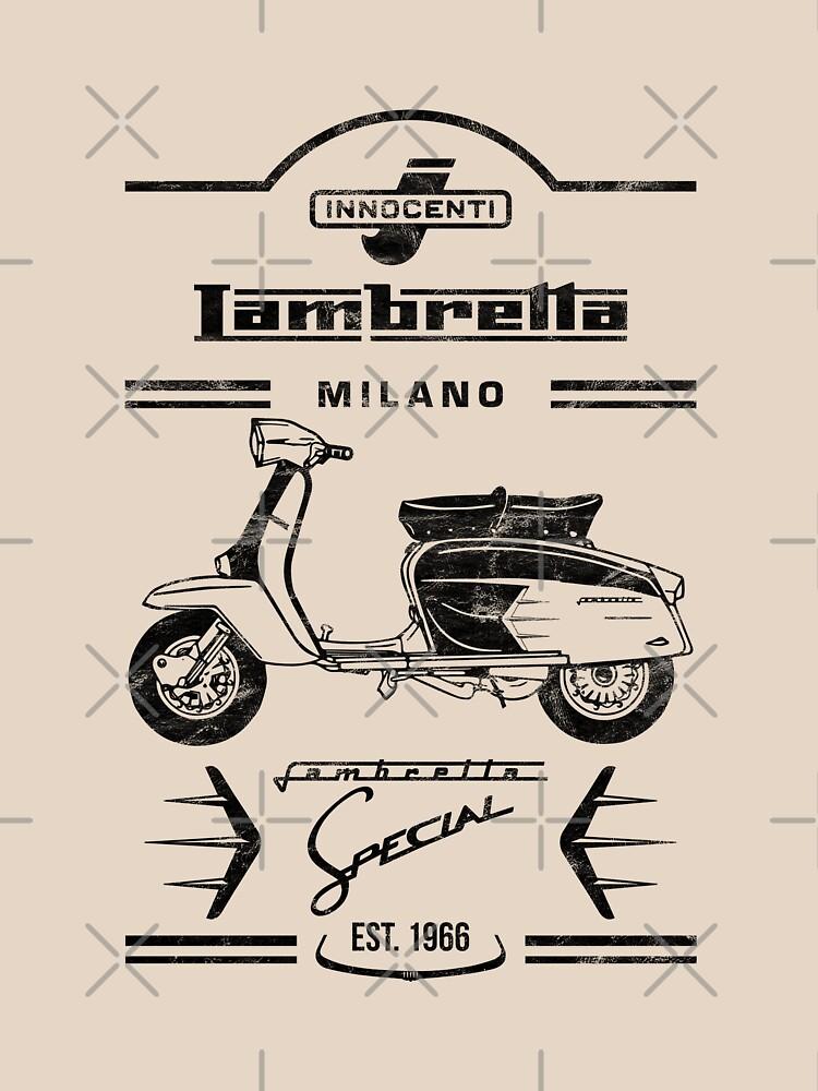 Lambretta SX Vintage Scooter by Dauna-Design