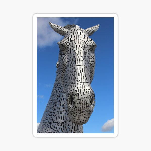 A Falkirk Kelpie in Scotland Sticker