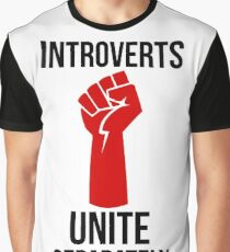 Introverts Unite Graphic T-Shirt