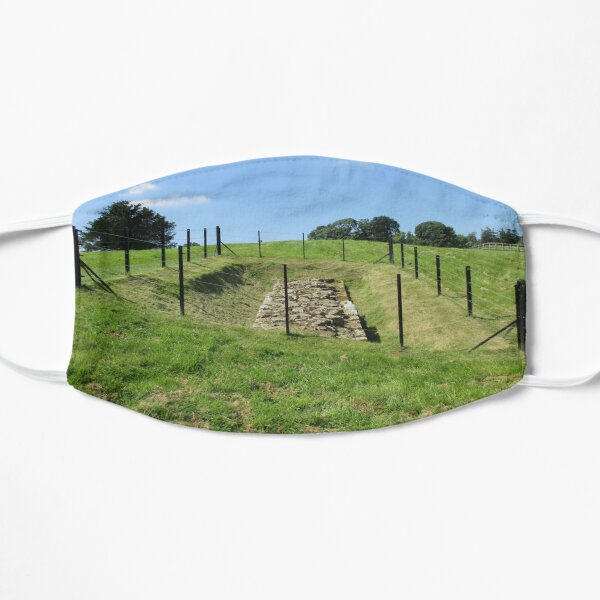 Merch #100 -- Fenced Off Rock Remains (Hadrian's Wall) Mask