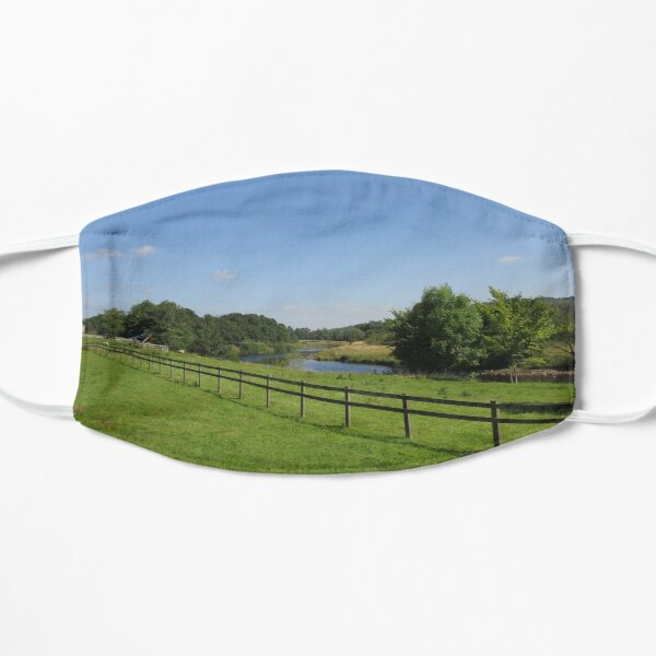Merch #90 -- Stream Beyond The Fenced Field (Hadrian's Wall) Mask