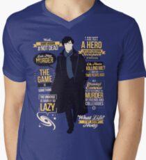 #Not Dead Men's V-Neck T-Shirt