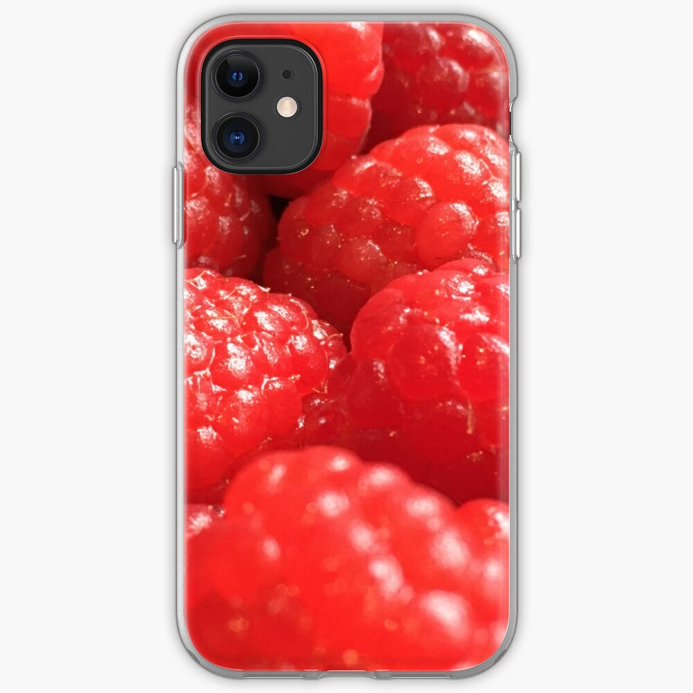 Red Raspberries iPhone Case & Cover