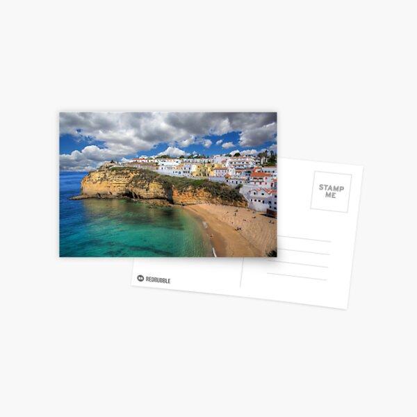 Carvoeiro Algarve Portugal Postcard