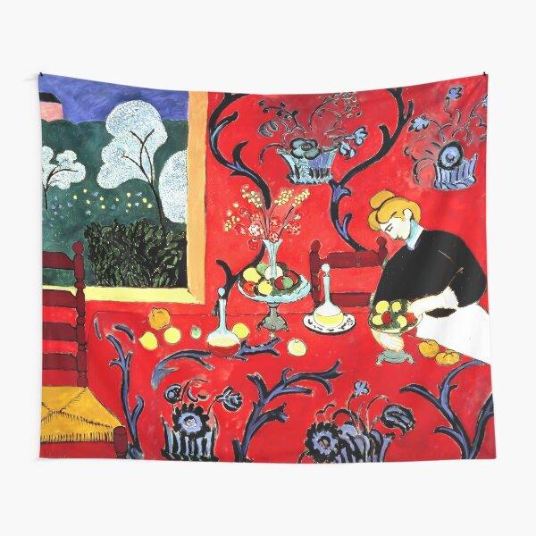 Henri Matisse, The Dessert, Harmony in Red (Red Room), 1908 Artwork Tapestry