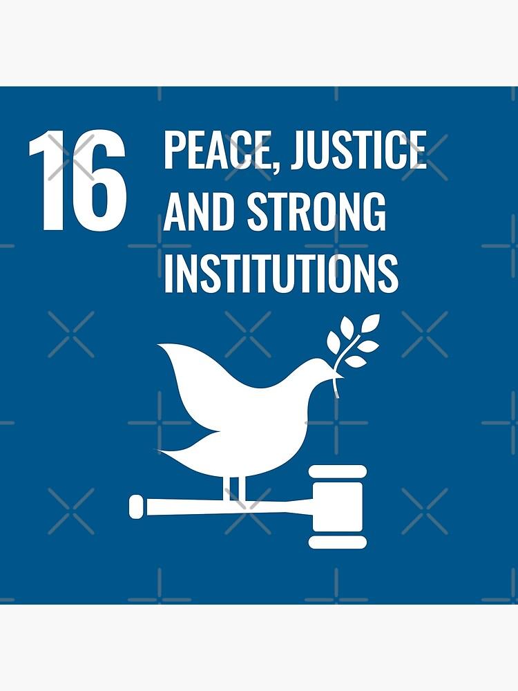 UN SDG - Sustainable Development Goals | Goal 16 by IsaacPierpont