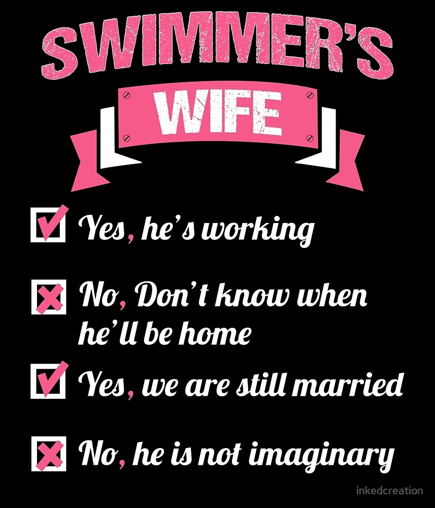 SWIMMER'S WIFE by inkedcreation