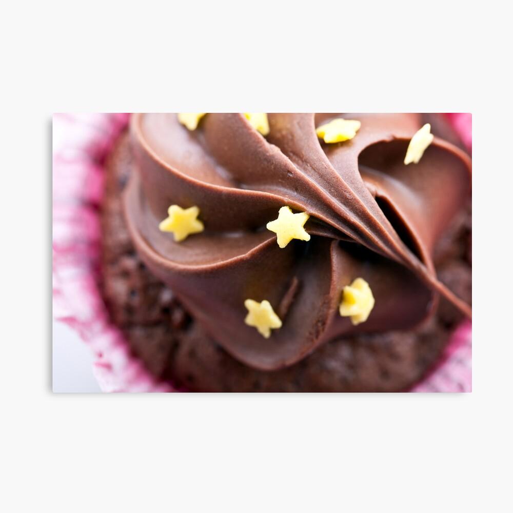 Top of Cupcake Canvas Print