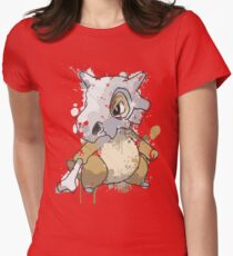 Cubone Womens Fitted T-Shirt
