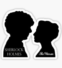 Sherlock & The Woman Sticker