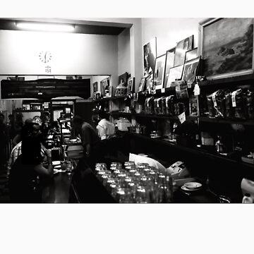 Espresso Bar, B&W... by MacLeod