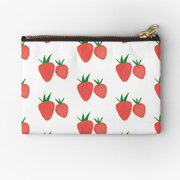Strawberry Collection Zipper Pouch