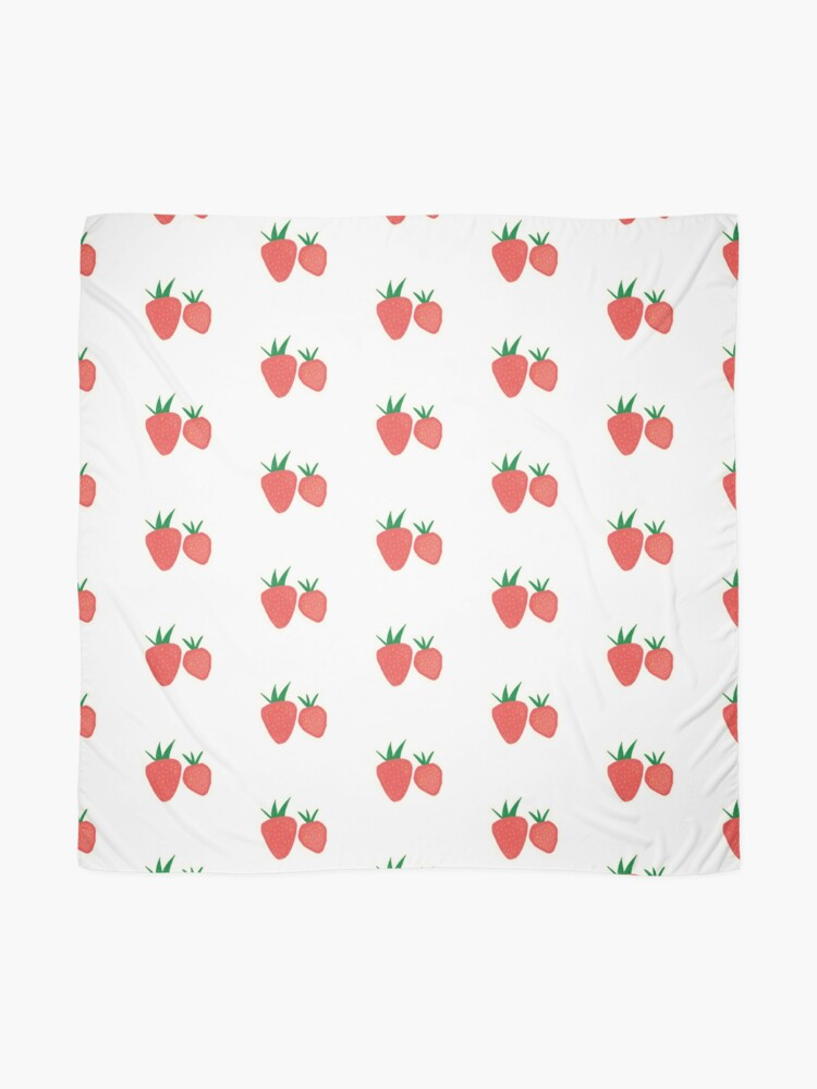 Alternate view of Strawberry Collection Scarf