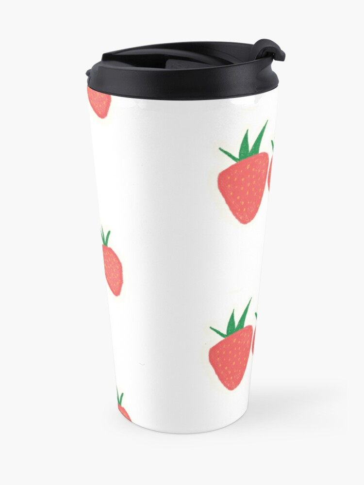 Alternate view of Strawberry Collection Travel Mug