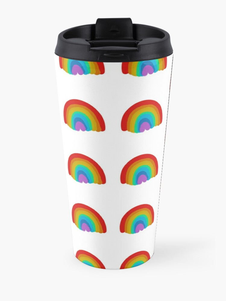 Alternate view of Rainbow Collection Travel Mug