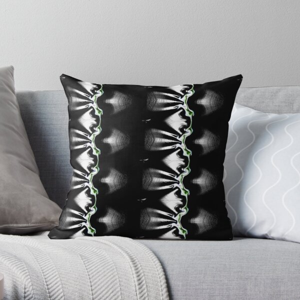Abstract acrylic patterns design Throw Pillow