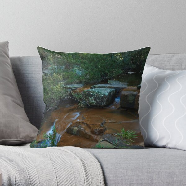 Kelly's Falls NSW Throw Pillow