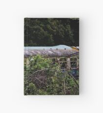 Abandoned Trains  Hardcover Journal