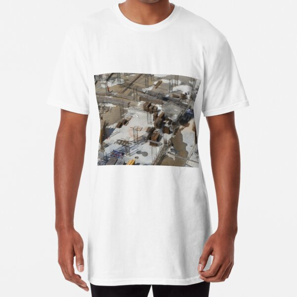 foundation of the building site Long T-Shirt