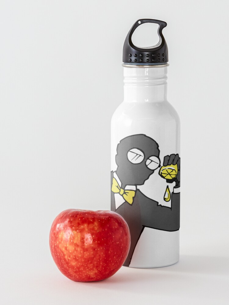 Alternate view of Fate Lemons (Death and Taxes) Water Bottle