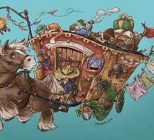 Caravan Adventure by embiearts
