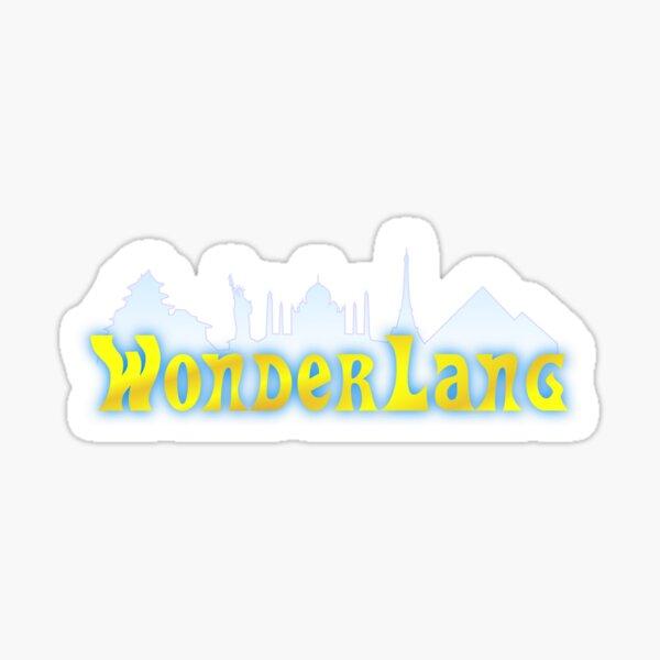 WonderLang Sticker