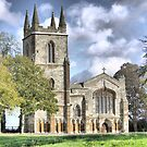 Canons Ashby Priory 1250AD by Larry Lingard-Davis