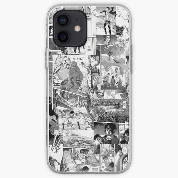 Attack on Titans collage  iPhone Soft Case