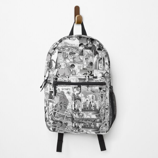 Attack on Titans collage  Backpack