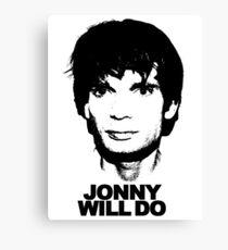 JONNY WILL DO Canvas Print