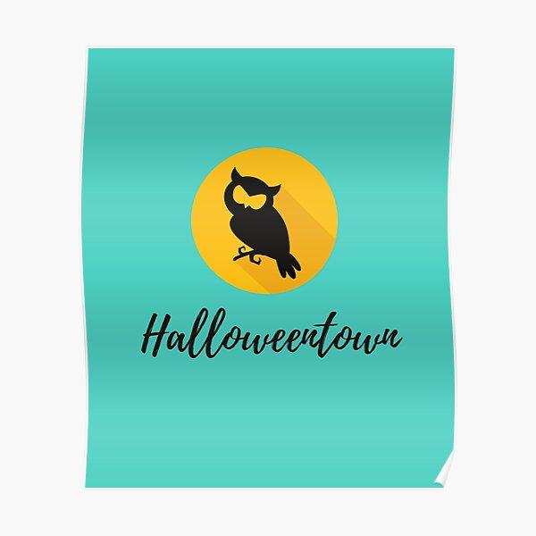 Halloweentown, Halloweentown Shirt, Halloweentown TShirt Poster