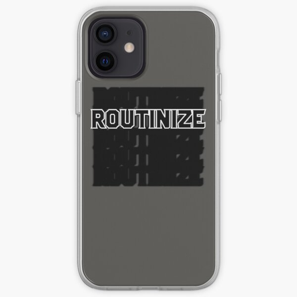 Routinize iPhone Soft Case