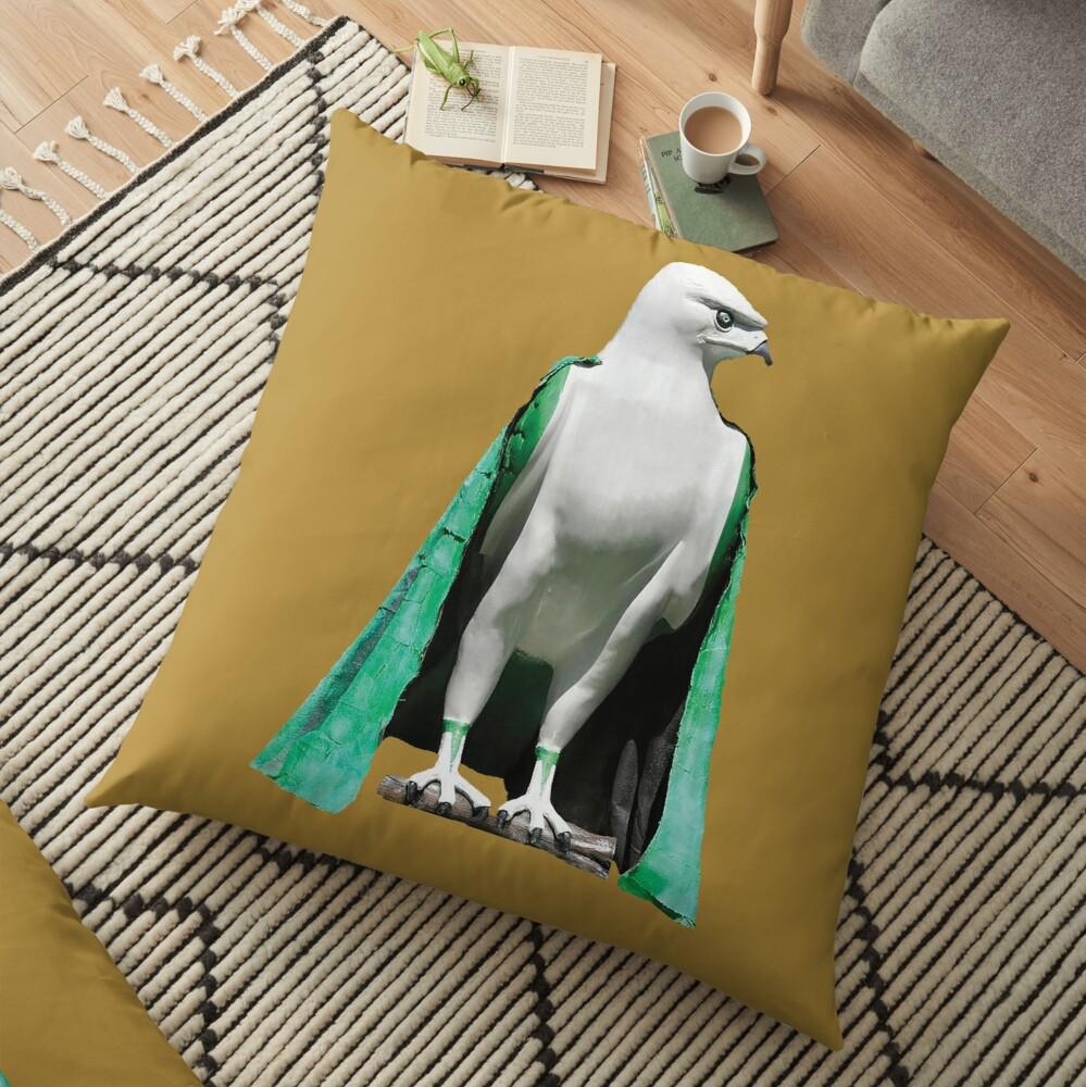 bird of prey Floor Pillow