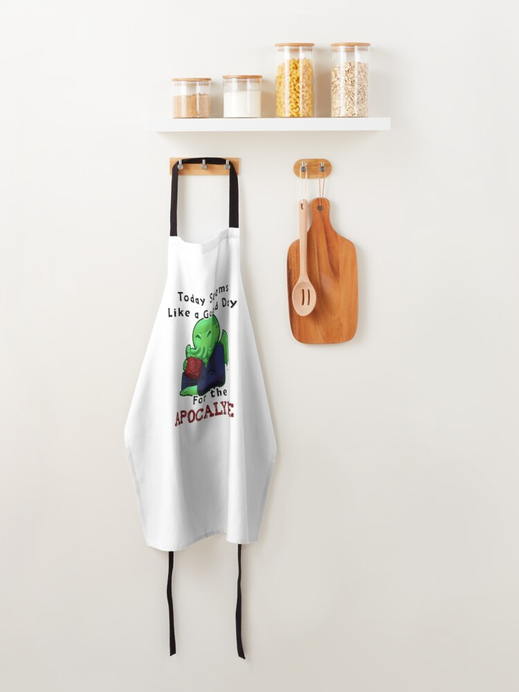Alternate view of Good Cthulhu Morning Apron
