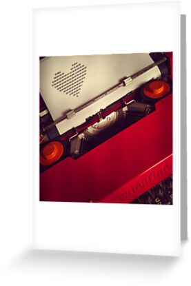 Send a LOVE letter...Retro style by Heather Martinez
