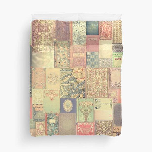 Dream with Books - Love of Reading Bookshelf Duvet Cover