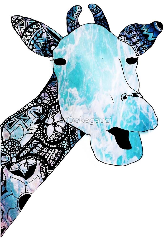 giraffe by br0okegauci