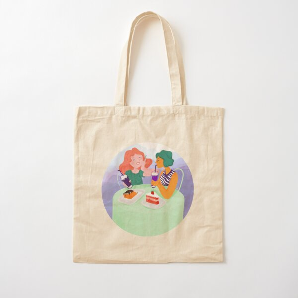 I miss cafes, restaurantes, eating out Cotton Tote Bag