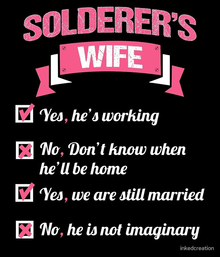 SOLDERER'S WIFE by inkedcreation