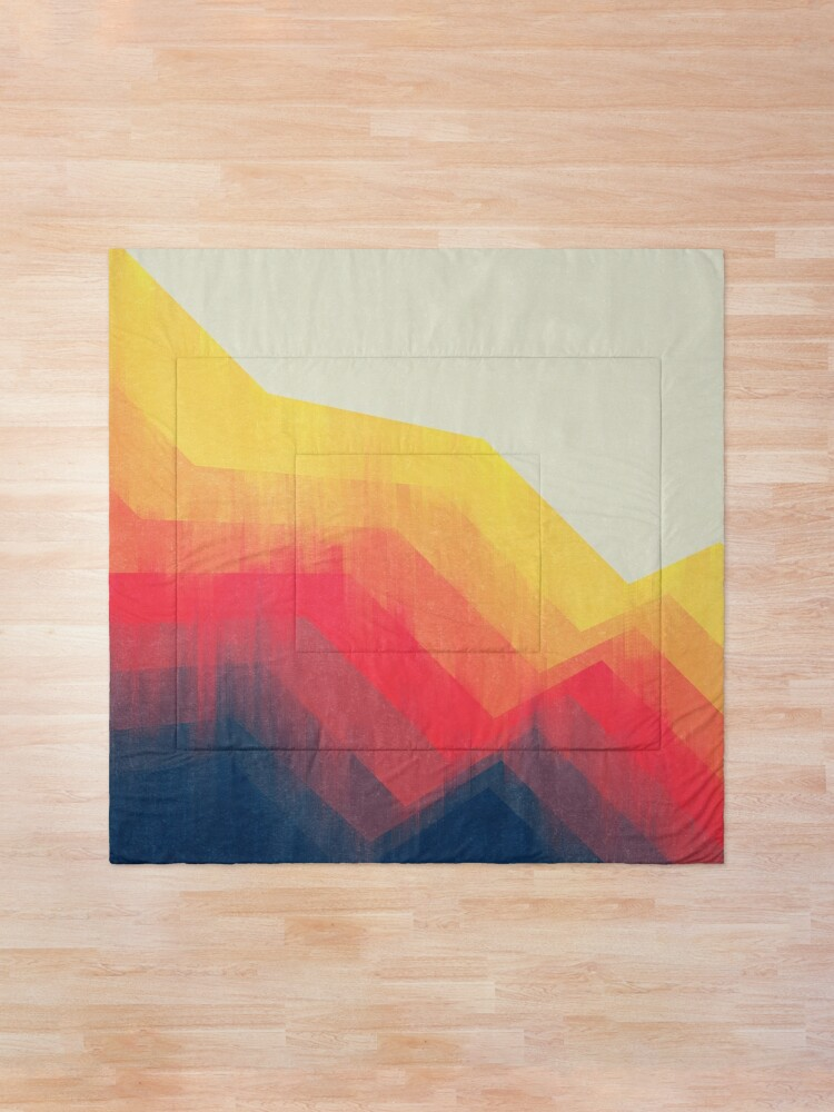 Alternate view of Sounds Of Distance Comforter