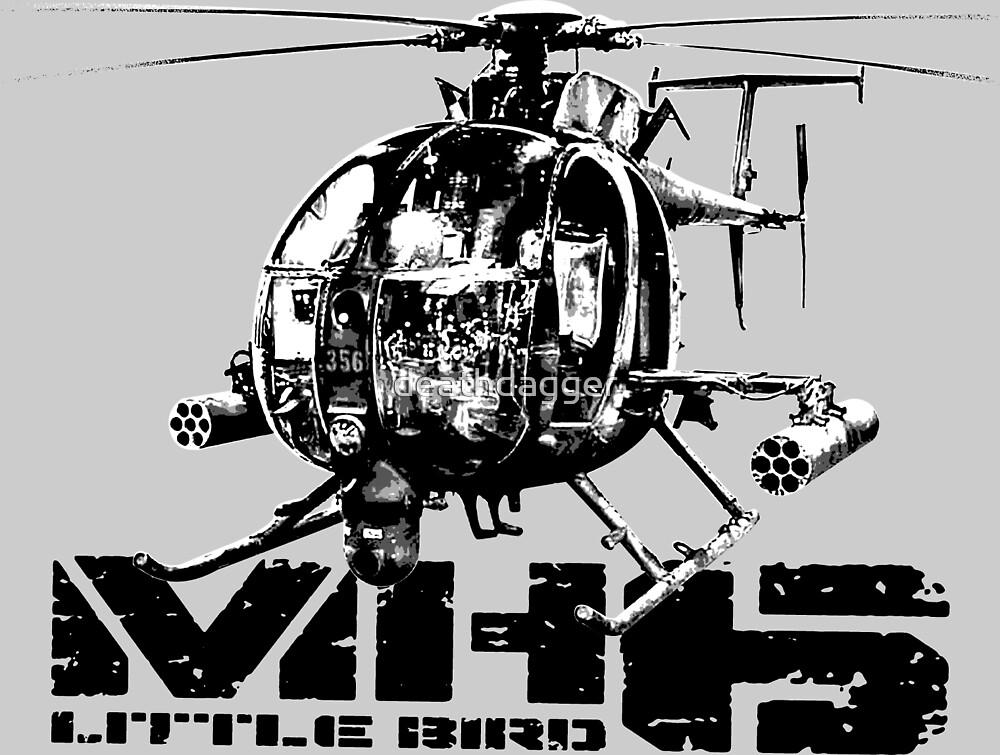 MH-6 Little Bird by deathdagger