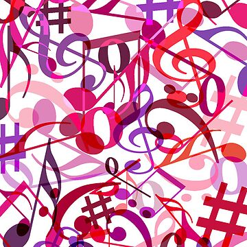 Music Notes  by WebbedWhitehall