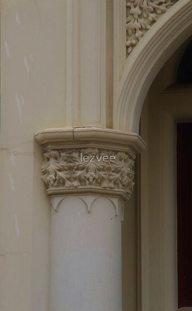 Arch Entrance to the Tahhatt Chambers (detail) by lezvee