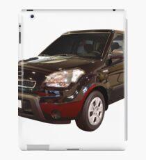 new black 4x4 suv isolated iPad Case/Skin