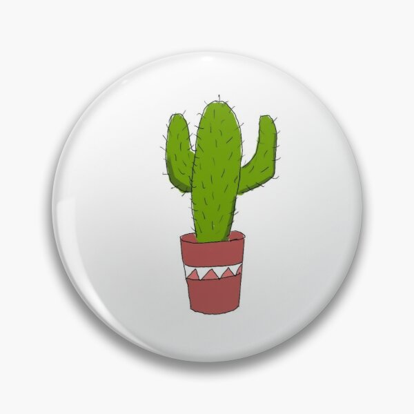 Cacti Collection Pin
