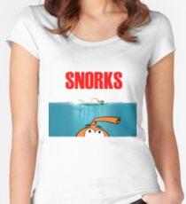 SNORKS...... da, da, da, da Women's Fitted Scoop T-Shirt