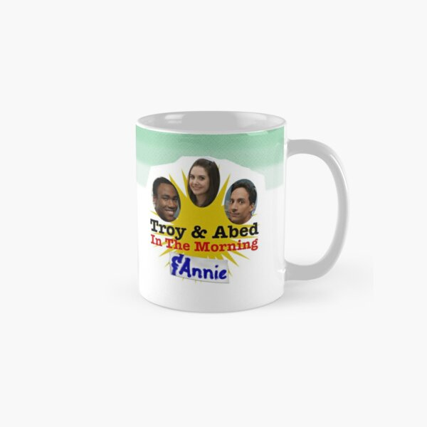 Troy & Abed & Annie in the Morning Classic Mug
