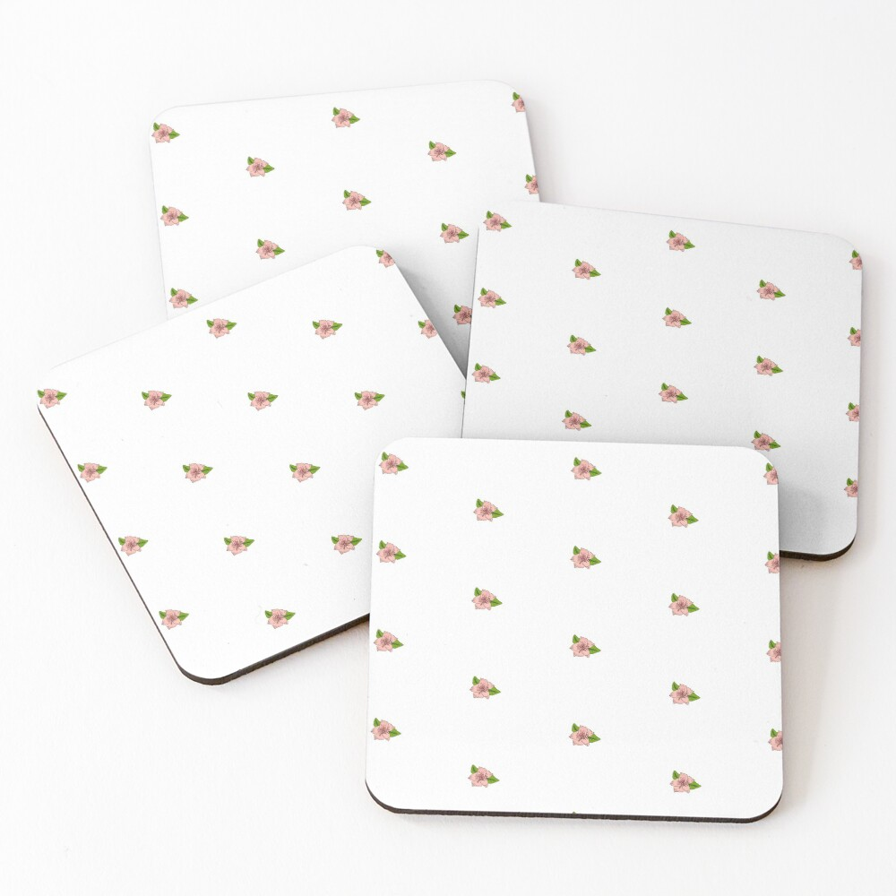 Cherry Blossom Collection Coasters (Set of 4)
