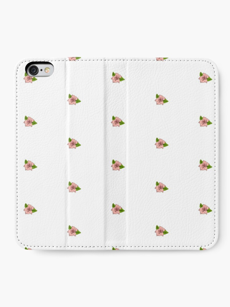 Alternate view of Cherry Blossom Collection iPhone Wallet